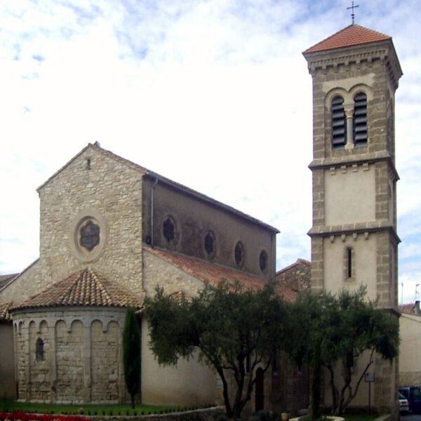 L'église de Vinassan
