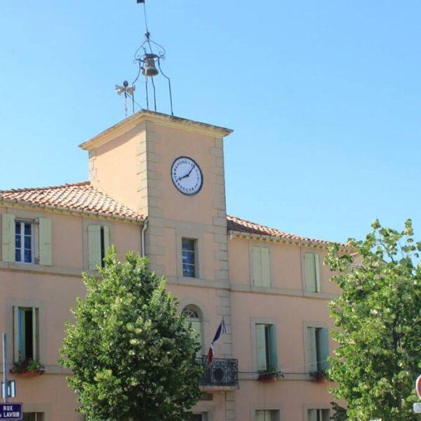 L'horloge de Salles d'Aude