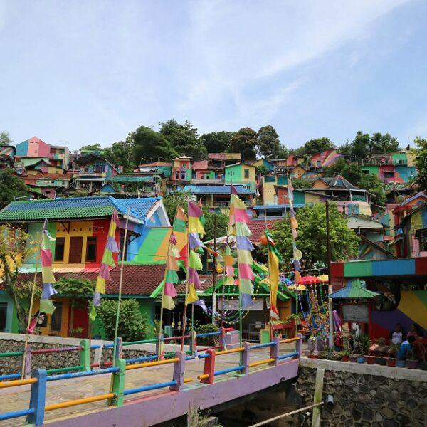 Kampung Pelangi : un village arc-en-ciel