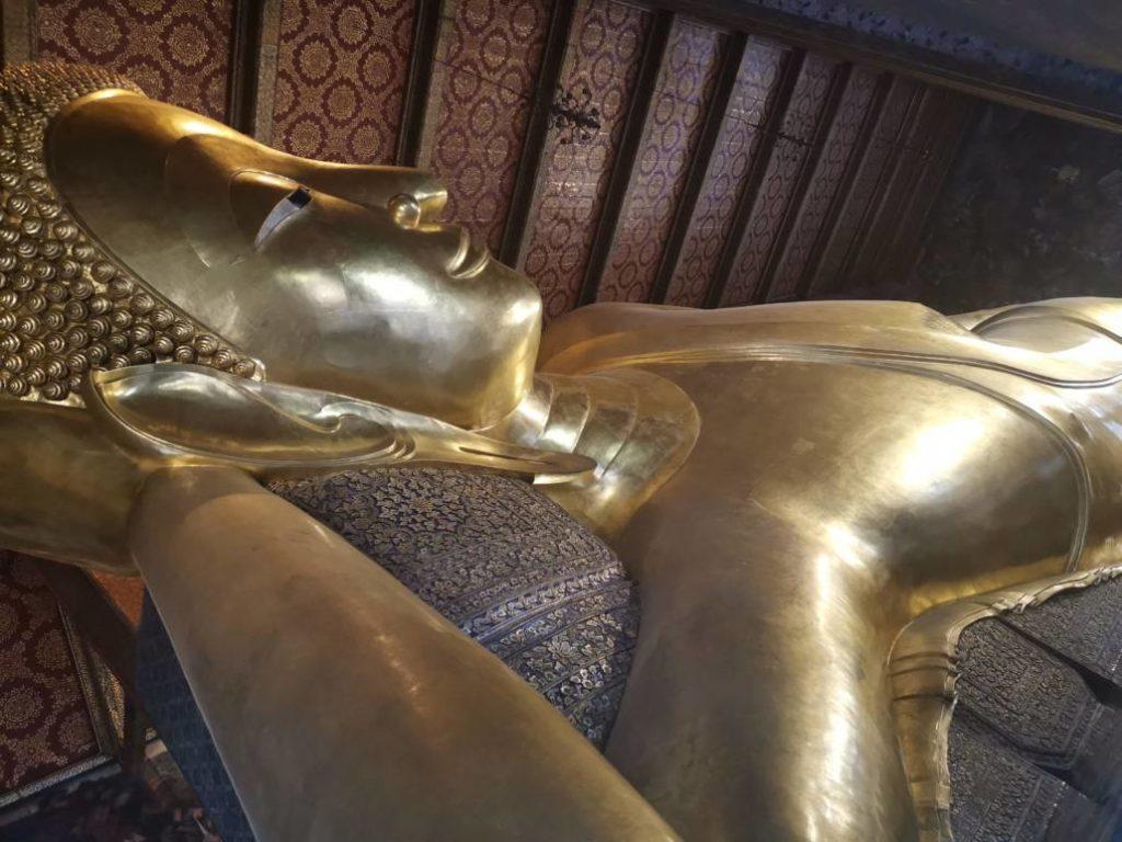 Wat Pho : le bouddha couché