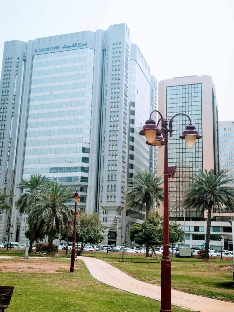 Les immeubles d'Abu Dhabi