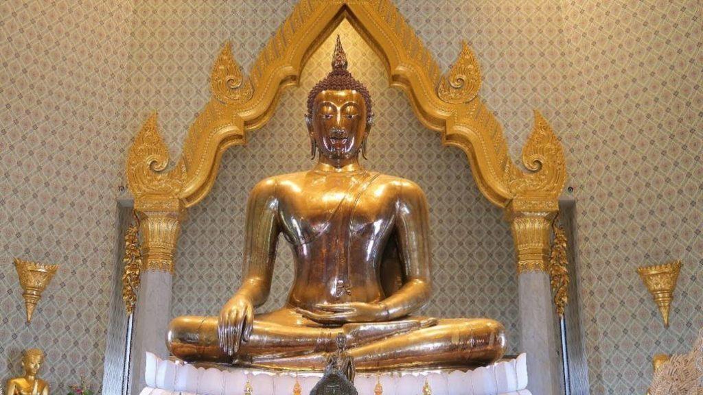 Bouddha d'or Bangkok