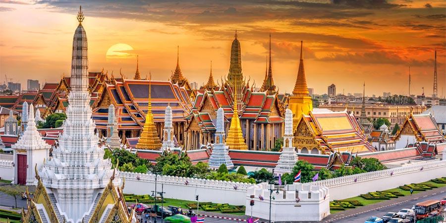Visite du Palais Royal de Bangkok