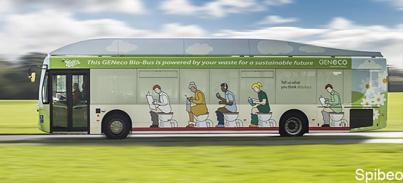 Le bio-bus : véhicule écolo qui roule aux excréments humains