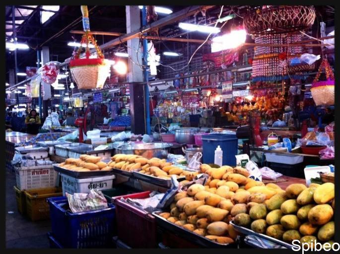 Les marchés Chiang Mai