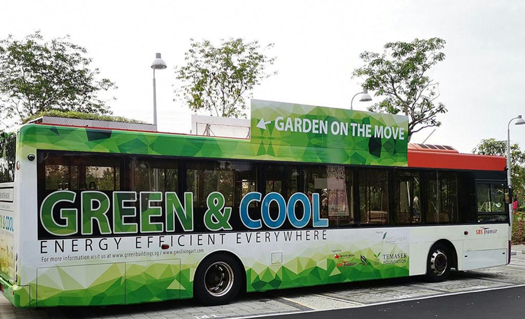 Bus dotés de toits végétalisés