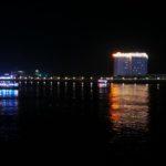 Promenade de nuit sur le Siso wath Quay