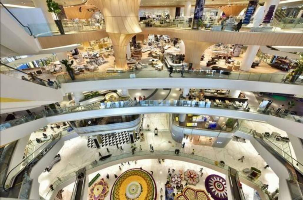 Les centres commerciaux de Bangkok