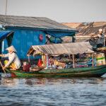 Mechrey village Flottant du lac Tonlé Sap
