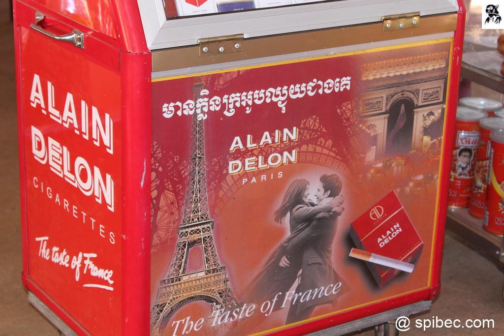 Les Cigarettes Alain Delon – Cambodge