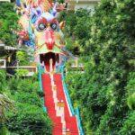 Le Temple Wat Ban Tham à Kanchanaburi.