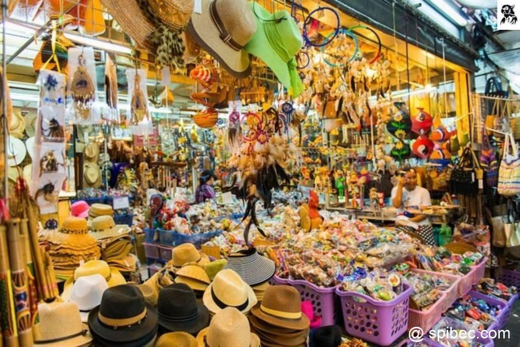 Les marchés de Bangkok