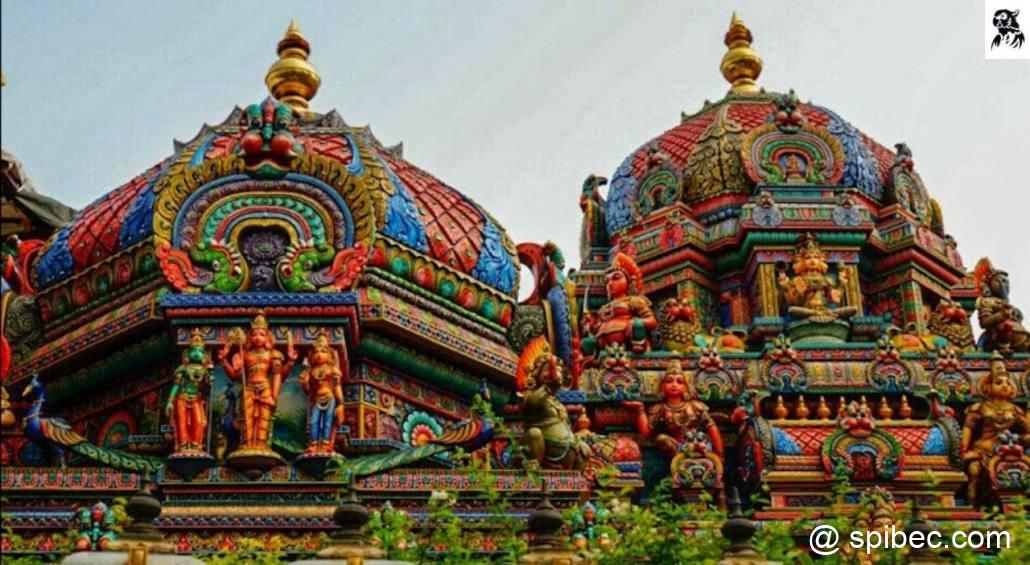 Les temples Hindou bangkok