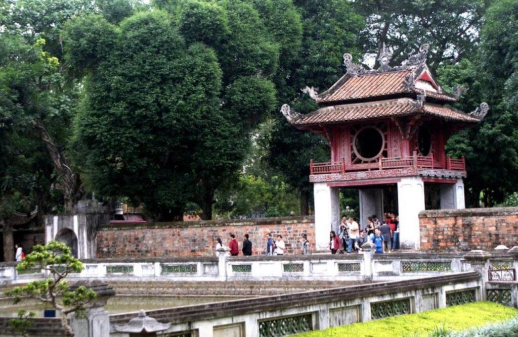 Le temple de la littérature Hanoi