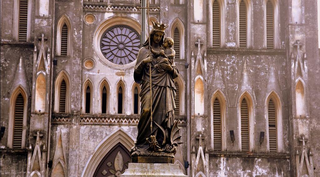 La cathédrâle Saint Joseph Hanoï