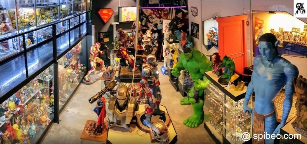 Batcat, le musée des jouets Bangkok