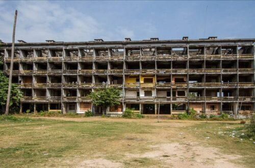 Urbex ancien logement militaire Kompong-Chhnang Camgbodge