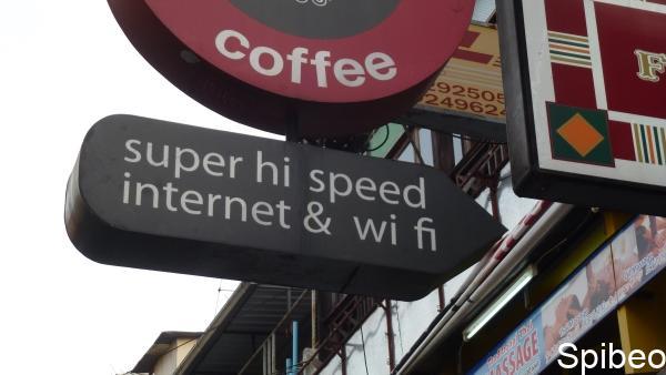 Accès Internet  en Asie